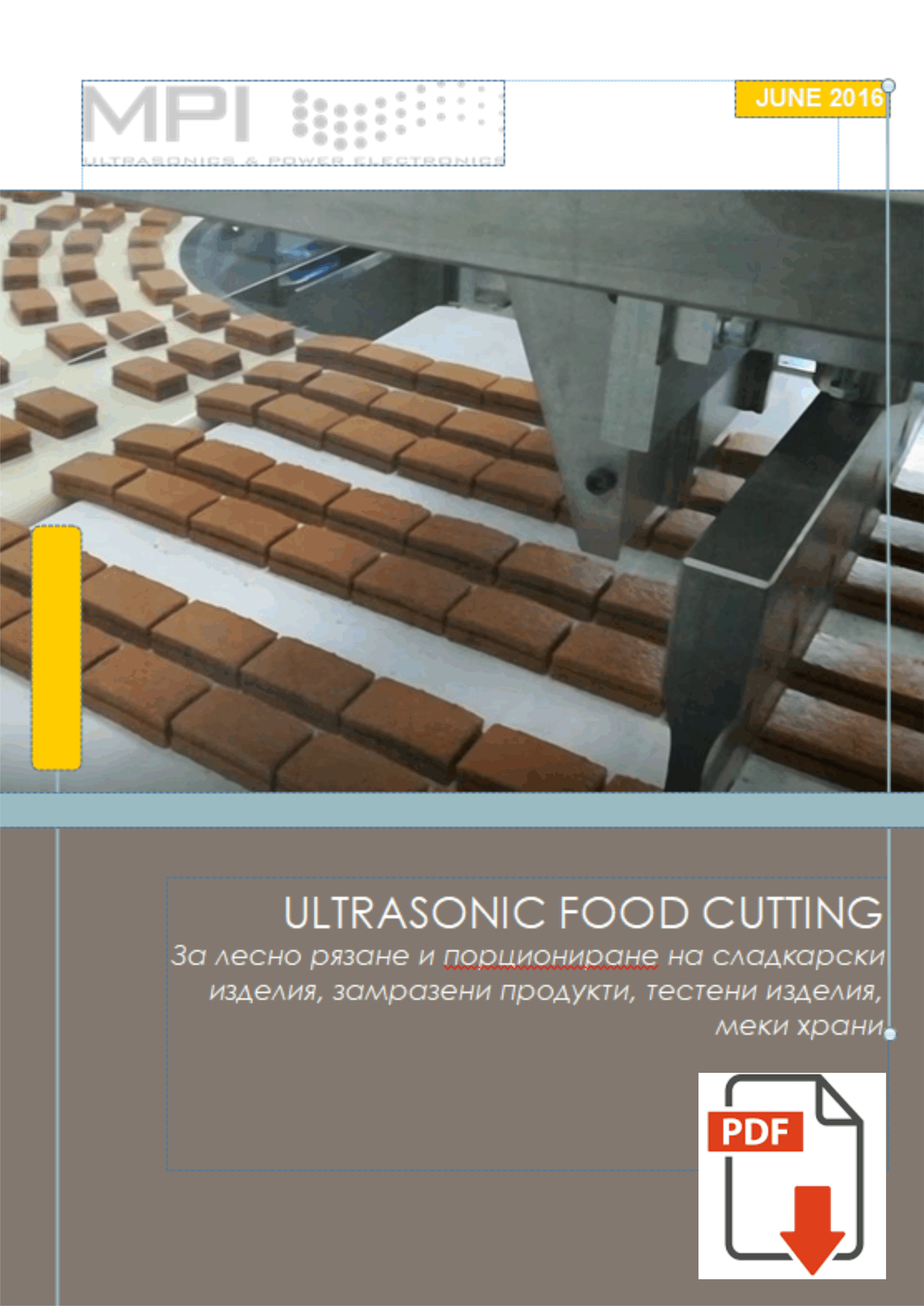 Ultrasonic Food Cutting pdf